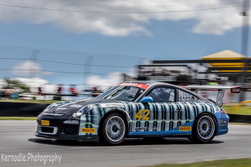 Thomas Pank #42, 2013 Porsche 997 Cup (3800 cc)
