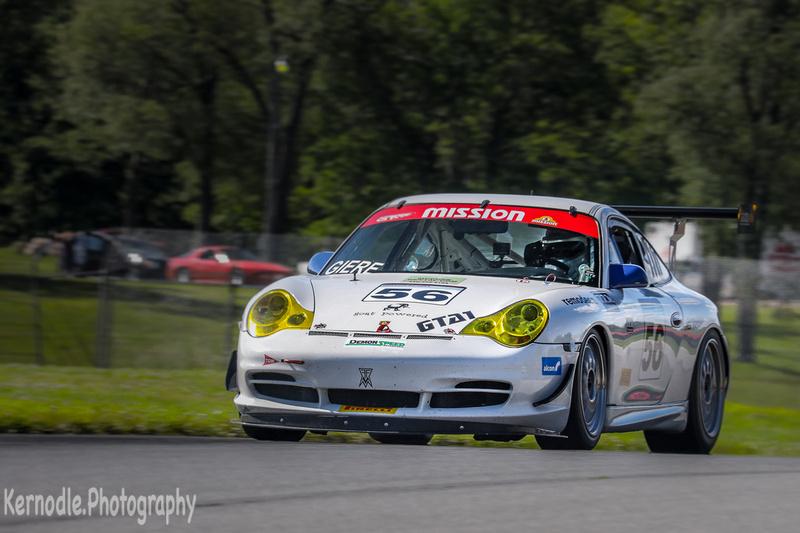 Brant Giere #56, 2005 Porsche 996 Cup (3600cc)