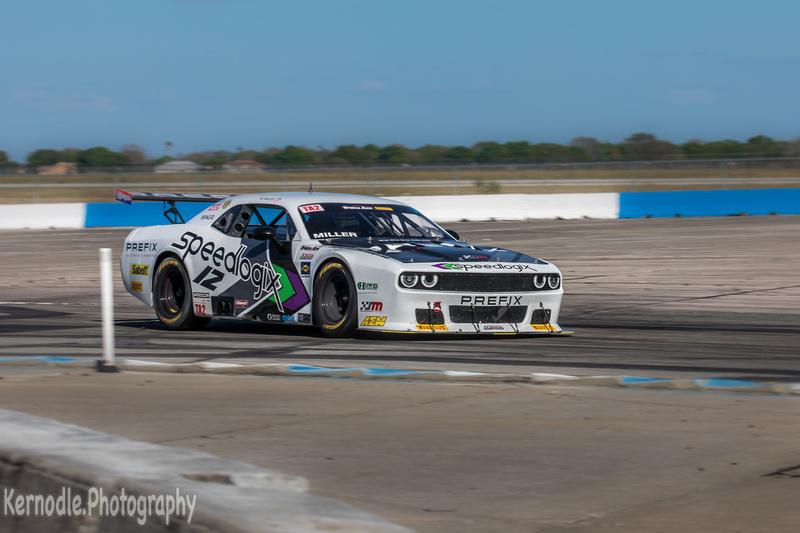 Marc Miller, #12 Speedlogix / Prefix Dodge Challenger, First Place TA2