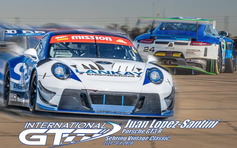 Juan Lopez-Santini, Porsche GT3 R -- IGT Enduro