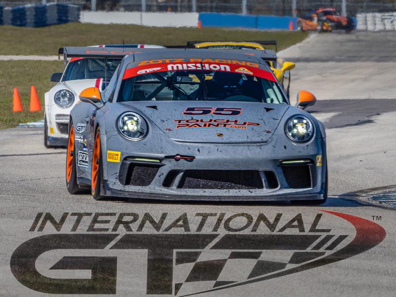 Chuck Smithee, Porsche GT3.8