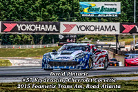 David Pintaric, #57 Kryderacing Chevrolet Corvette, Foametix Trans Am at Road Atlanta