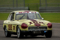 David K. Blakey's E Production MGB GT at the 2015 Barber Historics