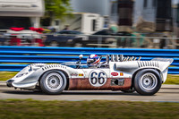 CHAPARRAL 2 AT SEBRING ON THE 50TH ANNIVERSARY OF ITS WIN THERE