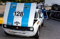 1974 Fiat 128 driven by Shea Brown