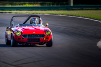1974 Fiat 124 Spider driven by J. Richard Schnabel -- turn 5a