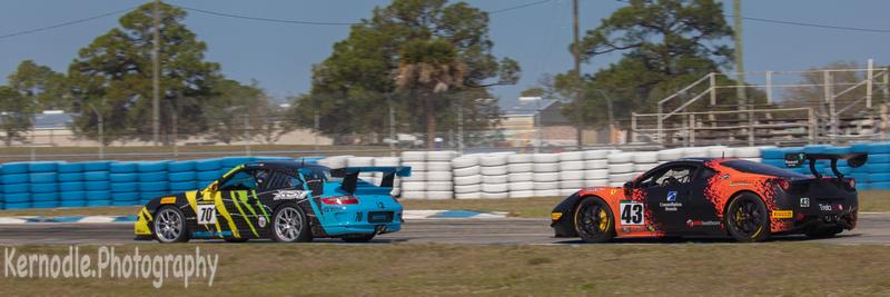 Barry Fromberg, Ferrari 458 Challenge - Norwood Auto Italia