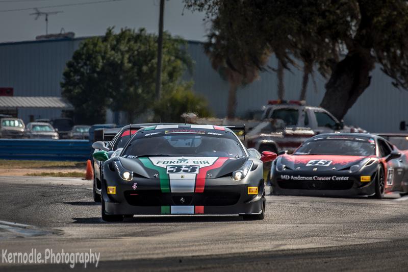 Steven Hill, Ferrari 458 Challenge - Norwood Auto Italia