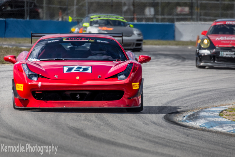 Colin Cohen, Ferrari 458 Challenge - Norwood Auto Italia