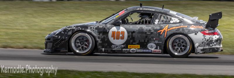 Matthew Coffman #483, 2008 Porsche GT3 Cup (3800cc)