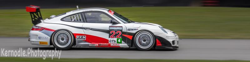 Brian Hicks #22, 2008 Porsche 911 GT3 Cup