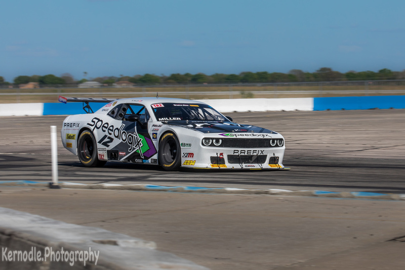 Marc Miller, #12 Speedlogix / Prefix Dodge Challenger, First Place TA2