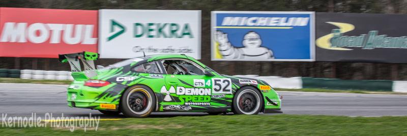 #52 Edward Baus, 2008 Porsche 997 3.6, International GT Mission