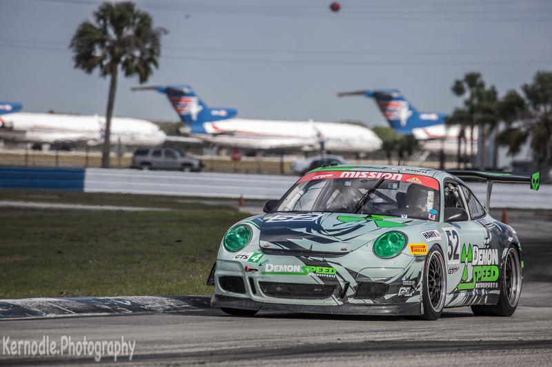 #52 Edward Baus, Demon Speed 2008 Porsche 997